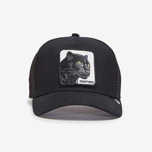 Goorin Bros Men's Black Panther Animal Farm Trucker Cap