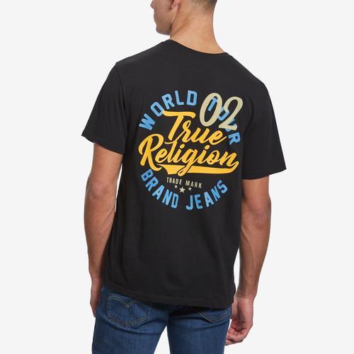 True Religion Men's Logo Crew Tee