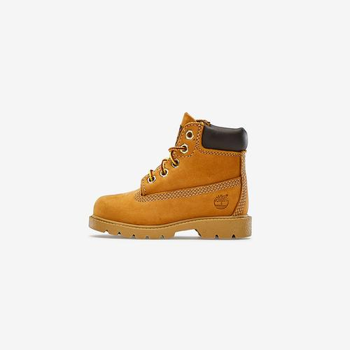 Left Side View of Timberland Boy's Toddler 6-Inch Classic Waterproof Boots Sneakers