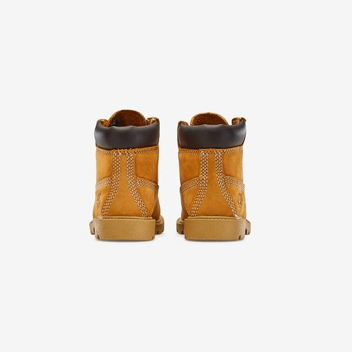 Back View of Timberland Boy's Toddler 6-Inch Classic Waterproof Boots Sneakers