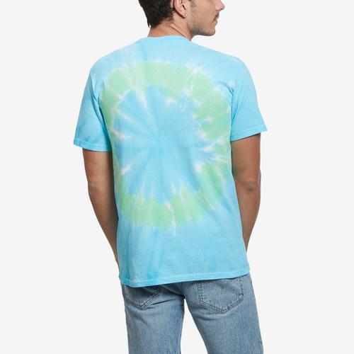 Liquid Blue Men's Cheech & Chong Smokin Ride Tie-Dye T-Shirt