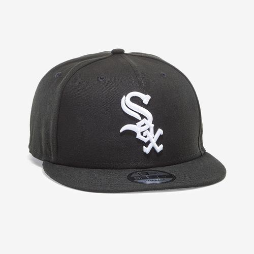 Front Left view of New Era White Sox 9Fifty Snapback
