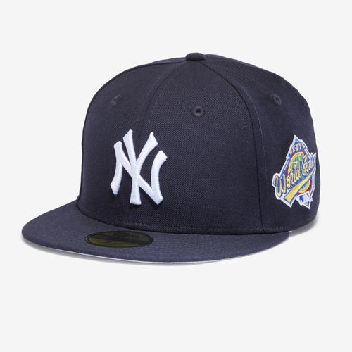 Front Right View of New Era Yankees 1996 World Series 59Fifty Fitted