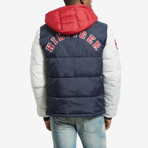 Tommy Hilfiger Varsity Hooded Puffer Jacket