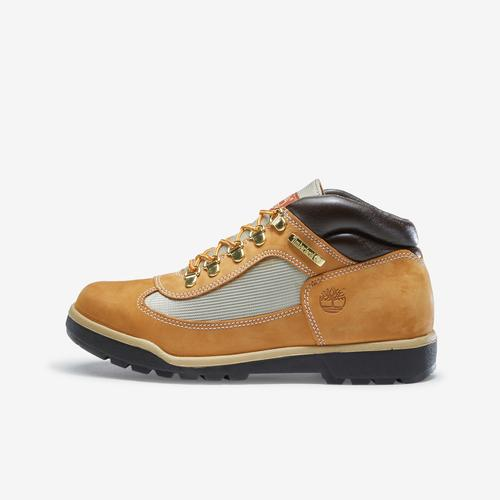 Left Side View of Timberland Boy's Grade School Field Boots Sneakers