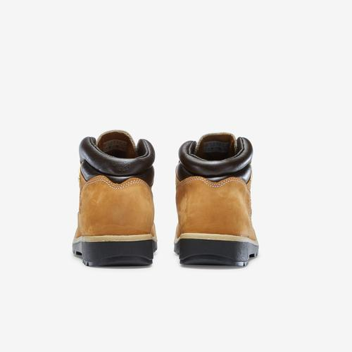 Back View of Timberland Boy's Grade School Field Boots Sneakers
