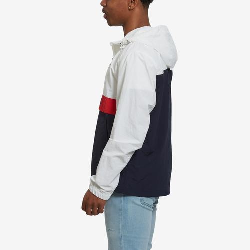 Right Side View of Tommy Hilfiger Men's Taslan Popover Jacket