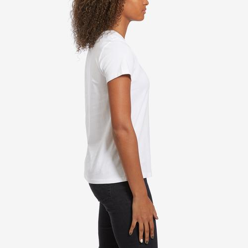 Right Side View of Levis Women's Logo Perfect Tee Shirt