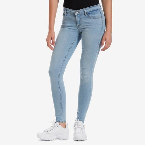 Front View of Levis Women's 710 Super Skinny Jeans