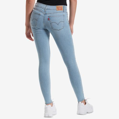 Back View of Levis Women's 710 Super Skinny Jeans