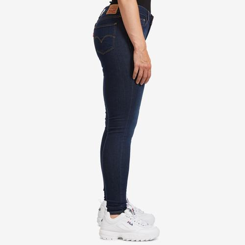 Right Side View of Levis Women's 710 Super Skinny Jeans