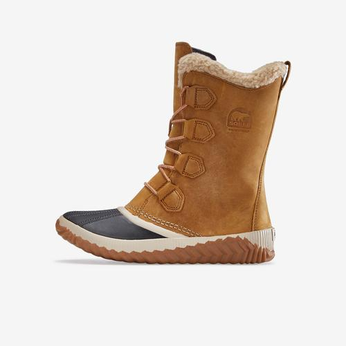 Left Side View of Sorel Women's Out N About™ Plus Tall Boot Sneakers