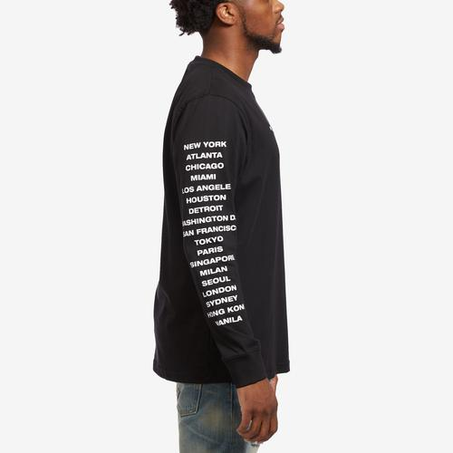 Right Side View of Staple Women's City Long Sleeve Tee