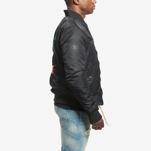 Right Side View of Staple Men's Reversible Jacket