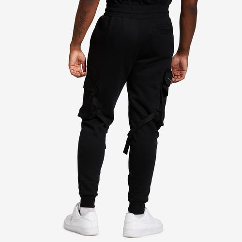 REBEL MINDS Fleece Cargo Jogger