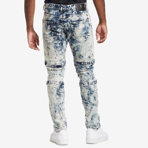 REBEL MINDS Multi Strap Jean