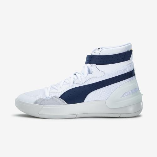 Left Side View of Puma Men's Sky Modern Basketball Shoes Sneakers