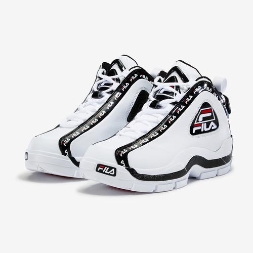 Side Angle View of FILA Men's Grant Hill 2 Repeat Sneakers
