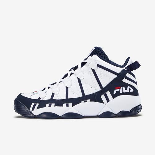 Left Side View of FILA Men's Stackhouse Spaghetti Sneakers