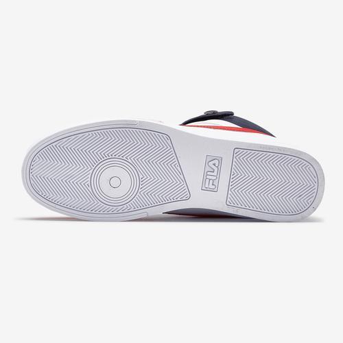Top View of FILA Men's Vulc 13 Mid Plus Sneakers