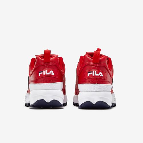 Back View of FILA Men's Disruptor 2 Premium Sneakers