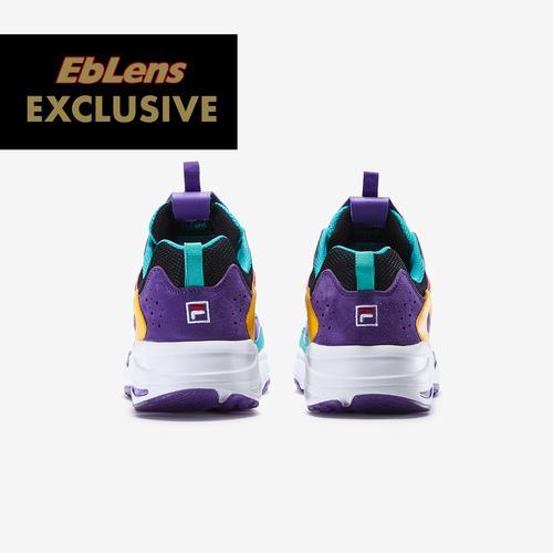 Back View of FILA Men's FILA x EbLens Ray Tracer Sneakers