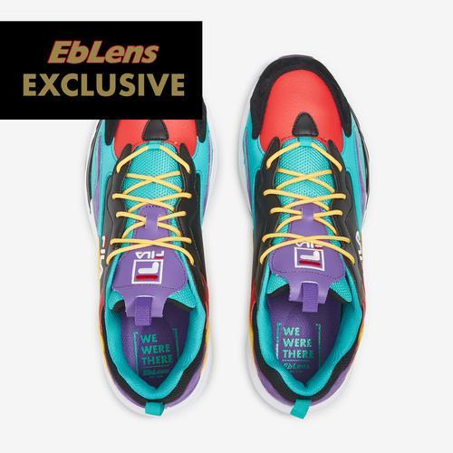 Bottom View of FILA Men's FILA x EbLens Ray Tracer Sneakers