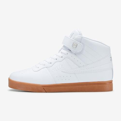 Left Side View of FILA Men's Vulc 13 Mid-Top Sneakers