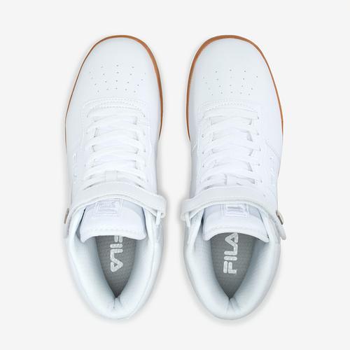 Bottom View of FILA Men's Vulc 13 Mid-Top Sneakers