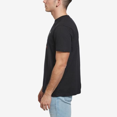 Right Side View of Staple Men's Global Pigeon Tee