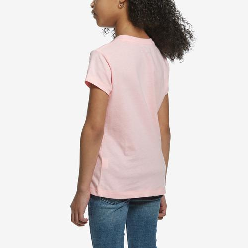 Back View of Champion Girl's Short Sleeve Fashion Tee