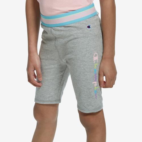Front View of Champion Girl's Banded Bike Shorts