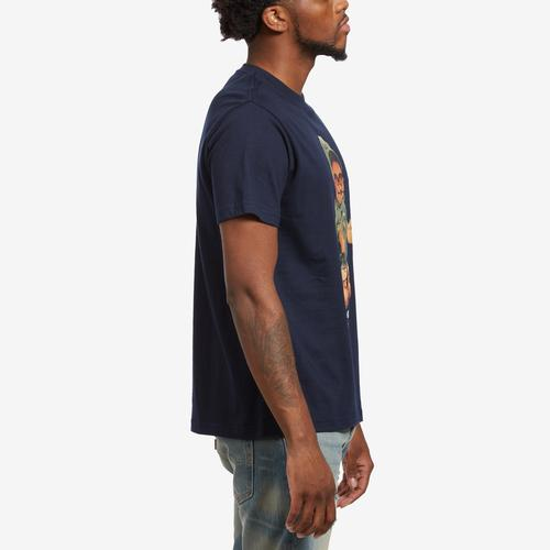 Right Side View of Hustle Gang Men's Bear Matic T-Shirt