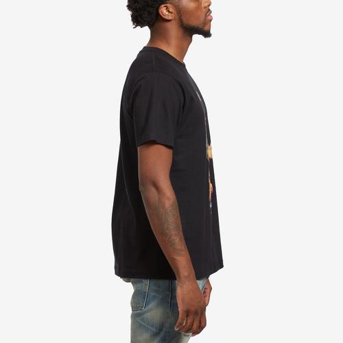 Right Side View of Hustle Gang Men's Bear Matic T-Shirt