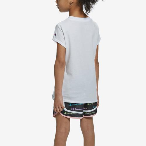 Champion Girl's T-Shirt and Shorts Set
