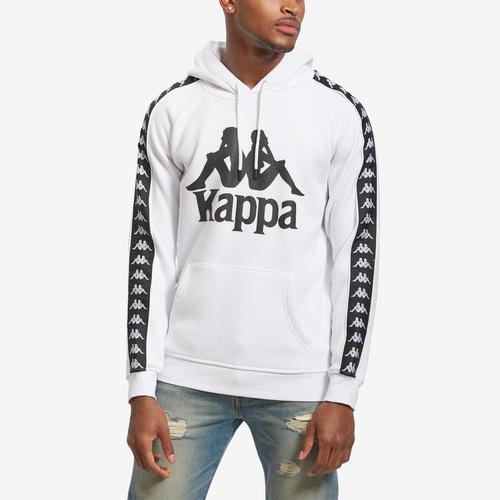 Front View of Kappa Men's 222 Banda Hurtado Hoodie