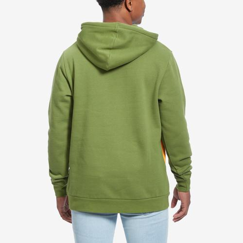 Kappa Men's Authentic 90 Barna Half Zip Hoodie