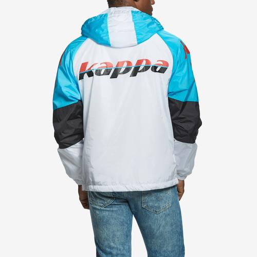 Kappa Men's  Authentic Race Cedric Reg Fit Hooded Jacket