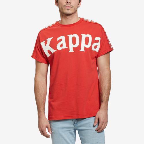 Front View of Kappa Men's 222 Banda Cultin T-Shirt