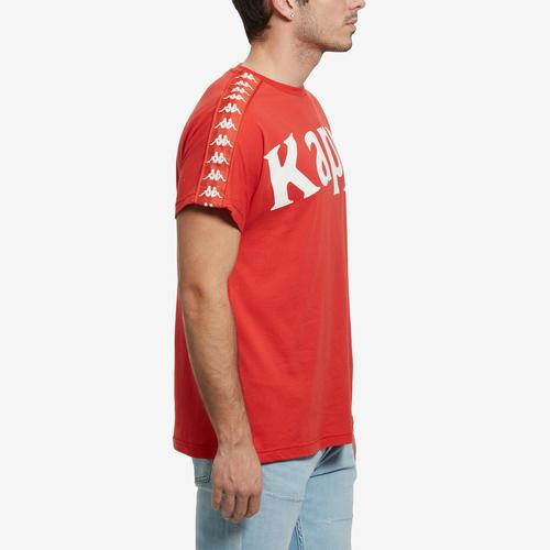 Left Side View of Kappa Men's 222 Banda Cultin T-Shirt