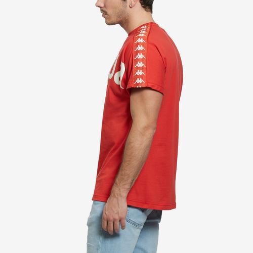 Right Side View of Kappa Men's 222 Banda Cultin T-Shirt