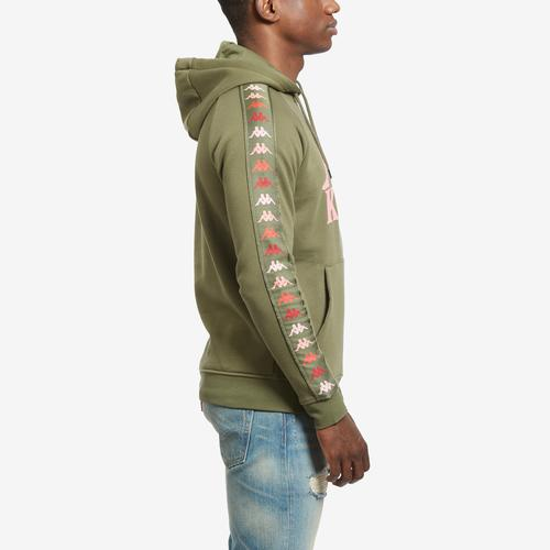 Right Side View of Kappa Men's 222 Banda Dinto Hoodie