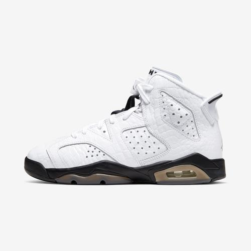 Left Side View of Jordan Boy's Grade School Air Jordan 6 Retro Sneakers