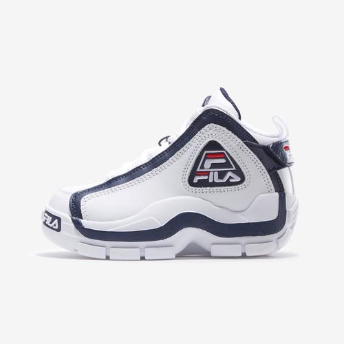 Left Side View of FILA Boy's Preschool Grant Hill 2 Sneakers