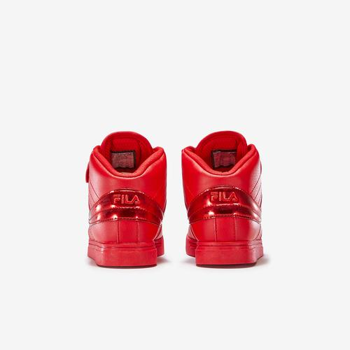 Back View of FILA Boy's Preschool Vulc 13 Sneakers