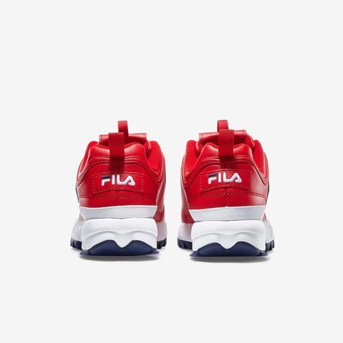 Back View of FILA Girl's Preschool Disruptor II Premium Sneakers