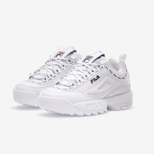FILA Boy's Preschool Disruptor 2 Repeat Flag