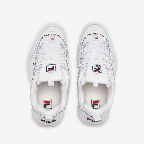 Bottom View of FILA Boy's Grade School Disruptor 2 Repeat Flag Sneakers