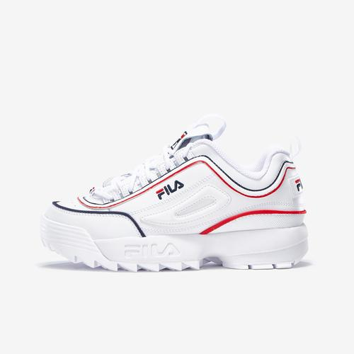 Left Side View of FILA Boy's Grade School Distruptor 2 Sneakers
