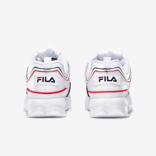 Back View of FILA Boy's Grade School Distruptor 2 Sneakers
